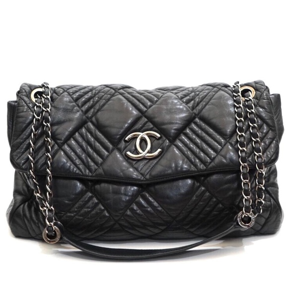 4006b62d49cb CHANEL Handbags - Chanel Jumbo Quilted Lambskin Shoulder Bag